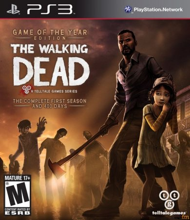 Игра Walking Dead Game of the Year Edition скачать бесплатно для PS3