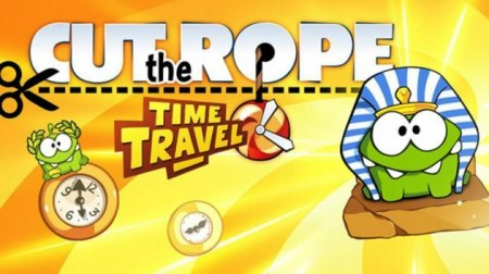 Новая игра в Вулкан казино. Cut the Rope: Time Travel