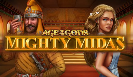 Бонусы в игре Age of the Gods Mighty Midas Slots от казино онлайн